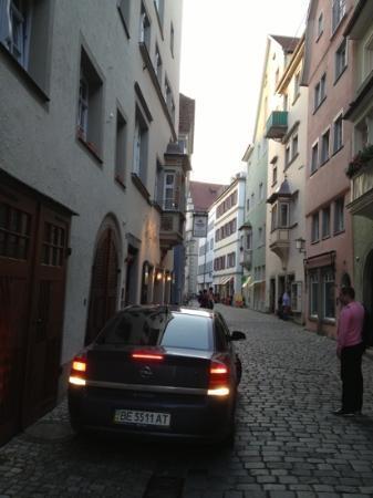 Hotel Ratsstuben: у входа в отель
