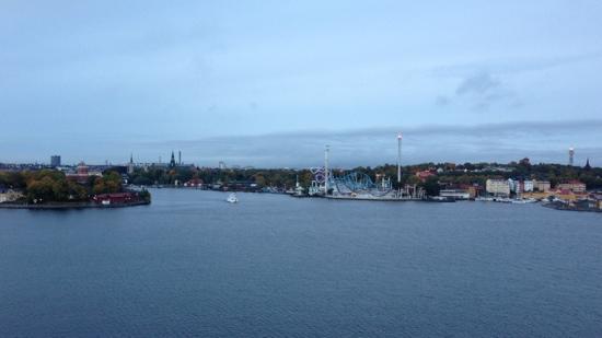 Mirador Fjallgatan: Höstmorgon över Stockholm sett från Fjällgatan