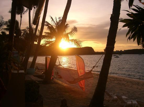 Secret Garden Beach Resort: Sunset