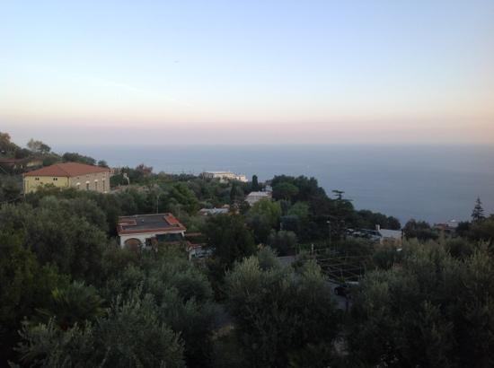 Casa Vacanza Le Due Sirene: Our Balcony view. wonderful for sunrises!
