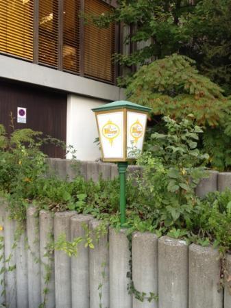 Hotel Föhr: внутренний двор, парковка