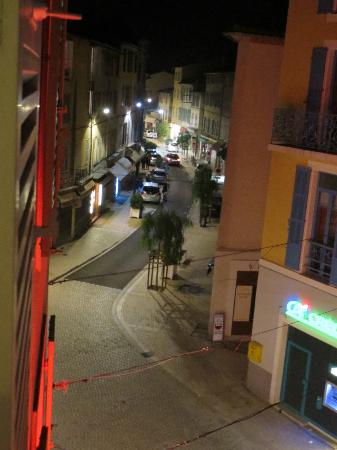 La Victoire: View from our window