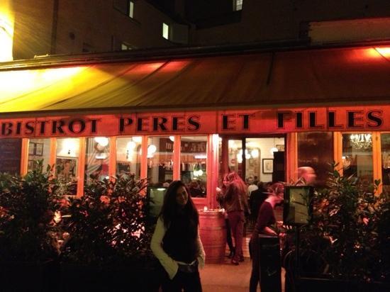 Peres et Filles : accogliente!!!