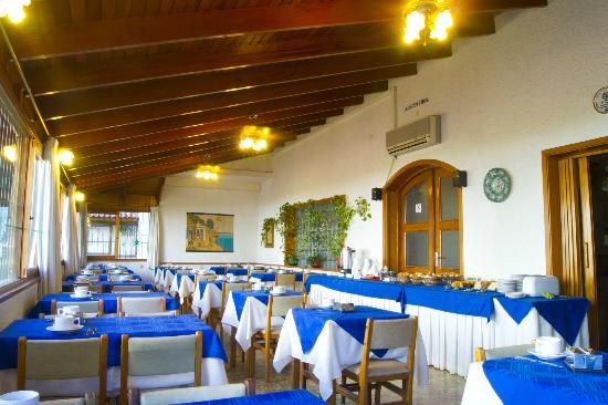 Hotel Argentina: salón de desayuno