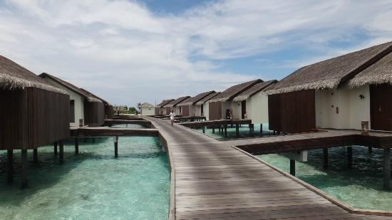 The Residence Maldives: Path to the water villas