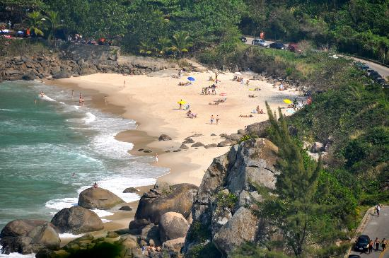 Prainha Beach: View of Prianha
