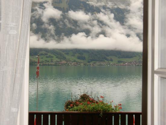 Hotel Bellevue Iseltwald: Blick aus dem Zimmer