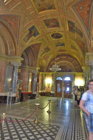 Budapest Operetta Theatre: Just inside. The picture doesn't do it justice