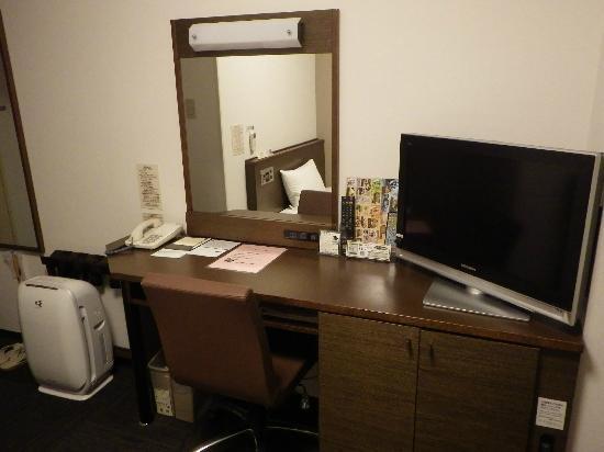 Hotel Route Inn Hanamaki: 机周り