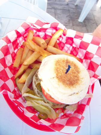 Red Nun Bar & Grill: Monja Burger