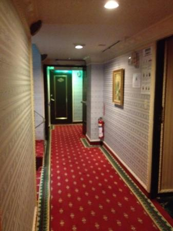 Alice Hotel: hallway