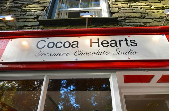 Cocoa Hearts : Picture of the entrance!