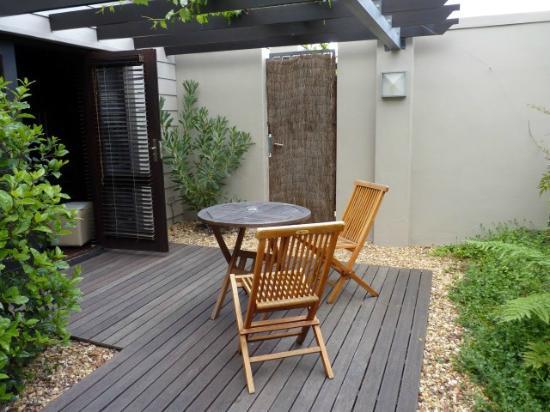 Keren's Vine: Private terrace