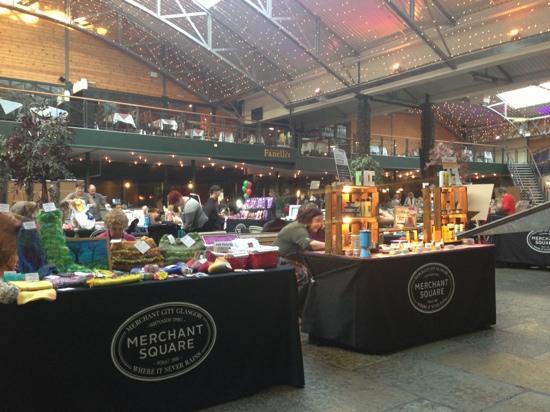 Saturday Craft Fair next to Bar Square