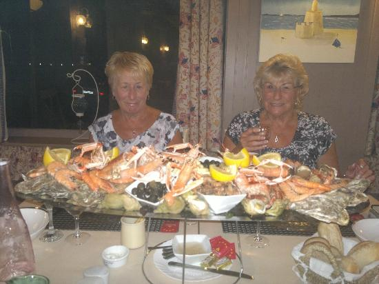 Le Beau Rivage: The start of the 'Fruits de Mer'