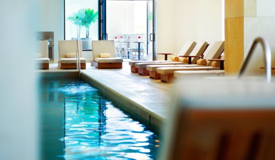 G Spa: Lap pool and co-ed whirlpool