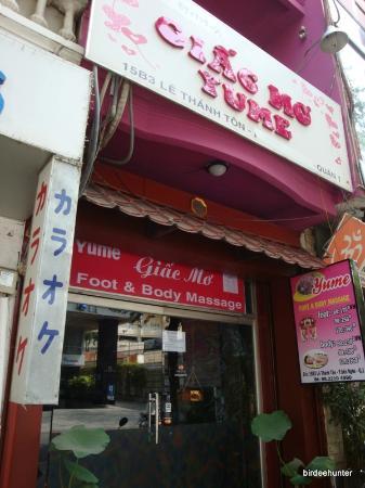 Massage Enjoy : Yume Foot and Body Massage on Japanese St HCMC