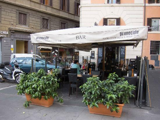 Residenza Navona First: Breakfast bar Primo. You can pre-order tickets for 5€ per person at Navona.