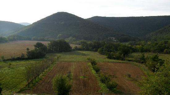 Mas de Luzière : la vallée