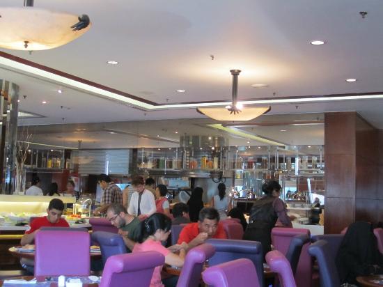 Dorsett Kuala Lumpur: Breakfast area