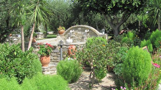 بنسيون صوفيا: Sophia's Pension gardens 