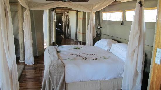 Wilderness Safaris Mombo Camp : our room