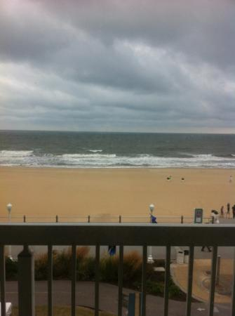 The Oceanfront Inn: view from the balcony