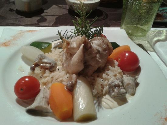 Hotel Le Gardon: plat