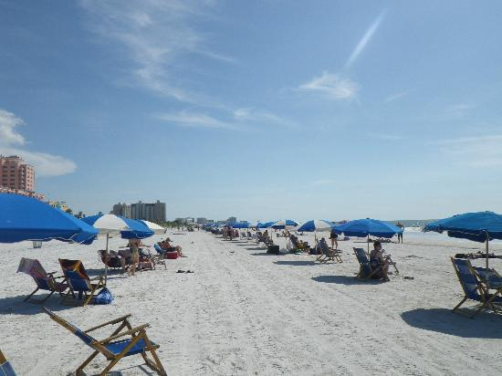 Clearwater Beach: to the left