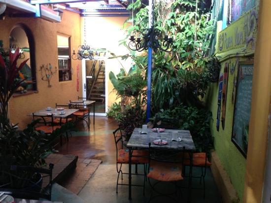 Casa 69: Solarium area.