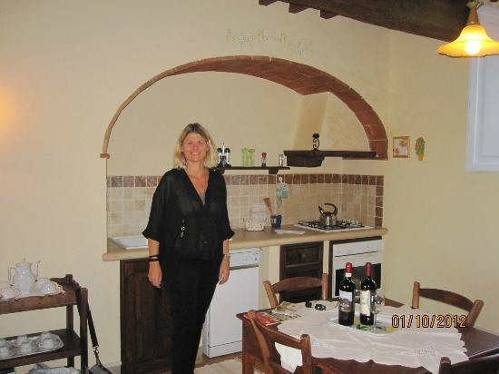 Via Della Stella: Køkken