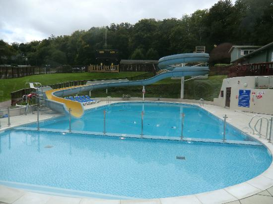 Outdoor pool picture of haulfryn finlake chudleigh for Garden pool reviews