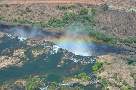 The Kingdom at Victoria Falls: Vue d'hélico