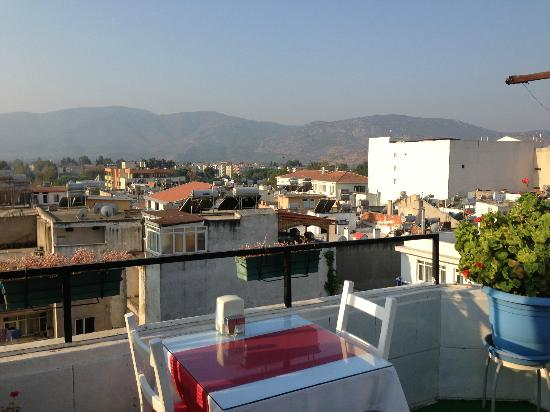 Urkmez Hotel: Roof Terrace
