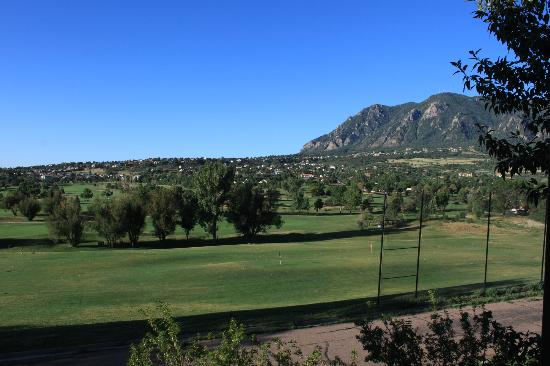 Cheyenne Mountain Resort: View from the room balcony
