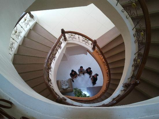 Estrellas de Mendoza Playa Resort: stairs 