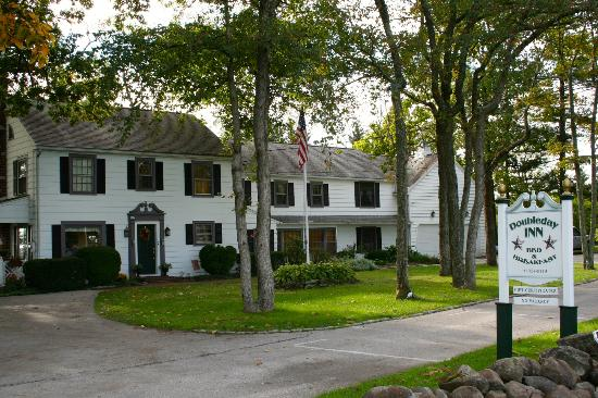 The Doubleday Inn: Front of Doubleday Inn