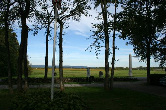 The Doubleday Inn: View of battlefield from the front of the house.