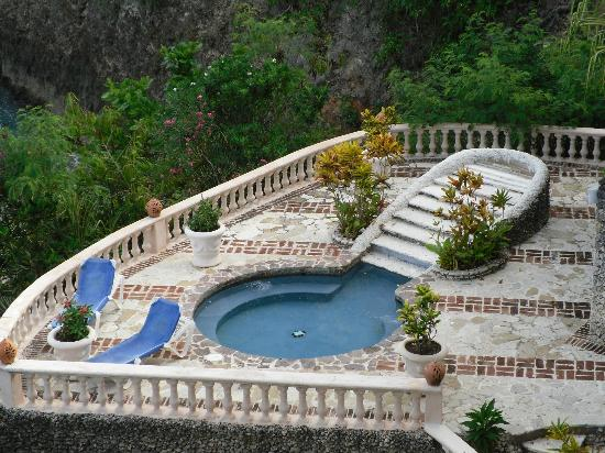 The Palace at Playa Grande: Small pool secluded near the private beach.