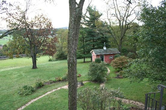 The Doubleday Inn: View from rear deck.