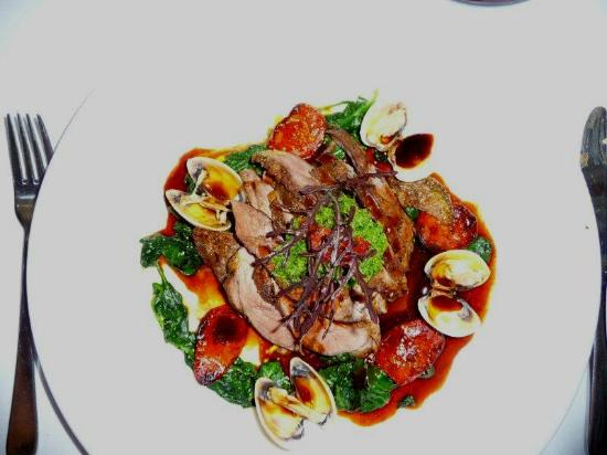 Riverbank Winery: Lamb dish