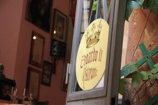 Edoardo II : entrance