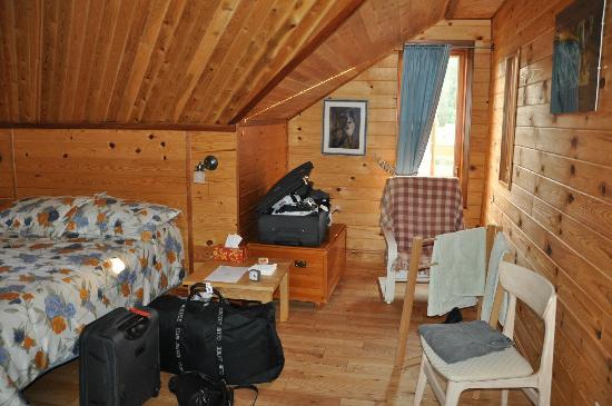 Le Canard Medeau: Notre chambre Shawanigan