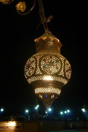 Riad Charme d'Orient: lampe