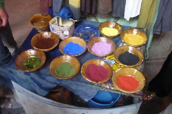 Riad Charme d'Orient: couleurs