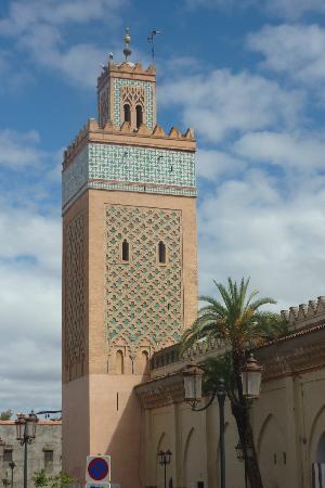 Riad Charme d'Orient: koutoubia