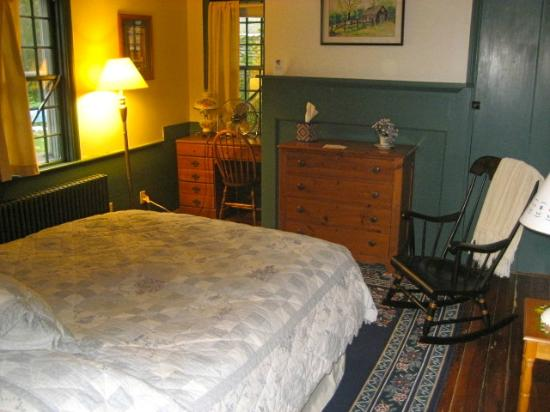 Gilbert's Bed and Breakfast: Bedroom