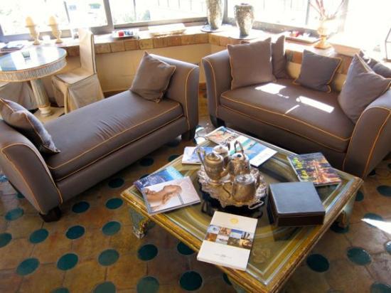 Hotel Villa Carlotta: Lounge