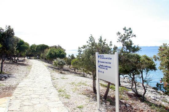Falkensteiner Family Hotel Diadora: Fantastischer Strandweg