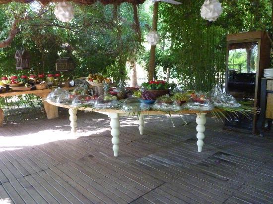 Olympos Lodge: Frühstücksbüffet